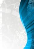 Vector tech background. Clip-art Stock Photo