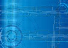 Vector - technische Achtergrond   Stock Afbeeldingen