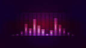 Free Vector Techno Background With Vibration Sound Stock Photography - 64278192