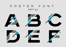 Vector Techno Font with Digital Glitch Text Effect. Minimal Geometric Typography for Logo Design, Music Poster, Fashion Show, Advertising. Modern Cyber Type in vector illustration