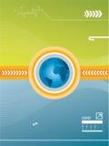 Vector technologie Stock Afbeeldingen