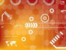 Vector technologie Stock Foto's