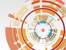 Vector Technologierad Stockbilder