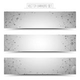 Vector Technology Web Banners Royalty Free Stock Photo