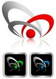 Vector teken Stock Foto's