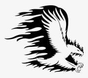 Vector Teken Eagle royalty-vrije illustratie