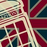 Vector telephone box icon. Eps10. Vector british red telephone box icon. Eps10 Stock Photography
