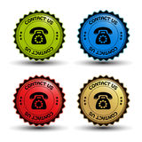vector telephone buttons Royalty Free Stock Photos