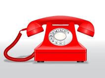 Vector telephone. Vector illustration of old telephone. File is in eps10 format Royalty Free Stock Image