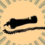 Vector telephone tube Stock Photo