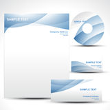 Vector template Royalty Free Stock Photo