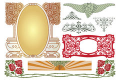 Vector template. Advertisements, flyer, web, wedding  and other invitations or greeting cards. Royalty Free Stock Images