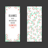 Vector template blanks with space for text Stock Image