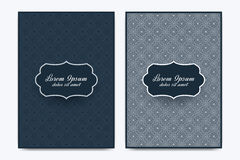 Vector template for brochure, Leaflet, flyer, advert, cover, catalog, poster, magazine or annual report. Ramadan Kareem Stock Photos