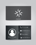 Vector template business card Stock Photo