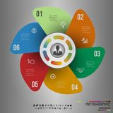 Vector Template for cycle diagram, graph, presentation and round chart Stock Photo