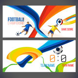 Vector template design Brochure,Flyer,Layout template. Web sites, page, leaflet with colored lines and waves.logo and text separately. Sport concept symbols Royalty Free Stock Photos