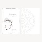 Vector template for folder, business card and Stock Photo