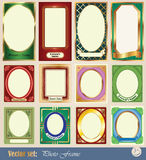 Vector template frame pictures Royalty Free Stock Image