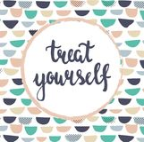Treat yourself Stock Image