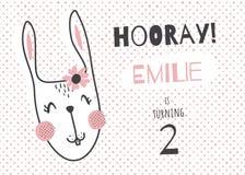 Emilie bunny Royalty Free Stock Photos