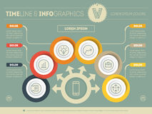 Vector Template of a infochart, diagram or presentation. Part of Stock Images