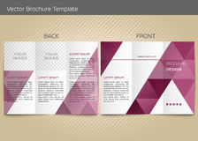 Vector template for leaflet Royalty Free Stock Photography