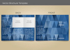 Vector template for leaflet Royalty Free Stock Images