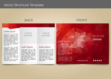 Vector template for leaflet Stock Photography
