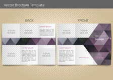 Vector template for leaflet Stock Photos