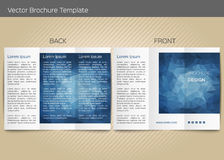 Vector template for leaflet Stock Images