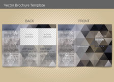 Vector template for leaflet Royalty Free Stock Photos