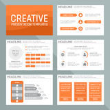 Vector template for multipurpose presentation Stock Photos