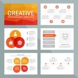 Vector template for multipurpose presentation Stock Photos