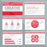 Vector template for multipurpose presentation royalty free illustration