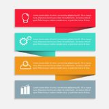 Business infographic template. royalty free illustration