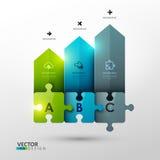 Vector template for presentation Stock Photos