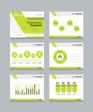 Vector template presentation slides background design Stock Images