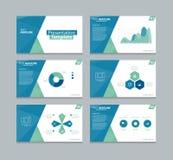 Vector template presentation slides background design Stock Photo
