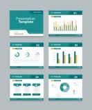Vector template presentation slides background design.info graphs and charts . slides design Stock Photo
