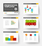 Vector Template for presentation slides 6 Stock Photo