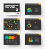 Vector Template for presentation slides 5 Stock Photo