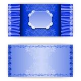 Vector template royal invitation card Stock Photo