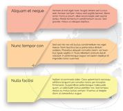 Vector template. Set of infographic elements Royalty Free Stock Photos