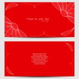 Vector template. For wedding invitation, thank you card, save the date cards stock illustration