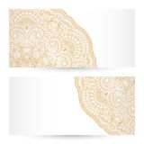 Vector templates floral pattern graphic designs. Birthday or invitation card Royalty Free Stock Photography