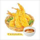 Vector Tempura Watercolor Stock Photo