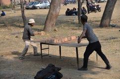 Vector-tenis nepalés Fotografía de archivo libre de regalías