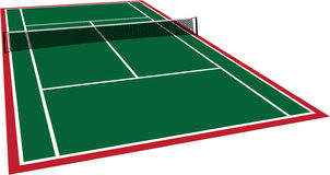 Vector Tennis Stock Images