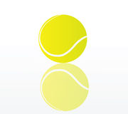 Vector tennis ball Royalty Free Stock Photo